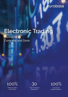 Electronic-Trading-solution