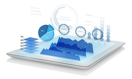 synergy2 tablet data graph business intelligence reinsurance